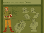 Stardust Character sheet - Ohmid by freak-cereals