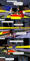 Sonic and Shadow: The Neverending Battle by MeltingMan234