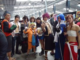 Fairy Tail Group by lqle