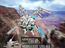 Armored Core - Noblesse Oblige (in fly) by Sermann