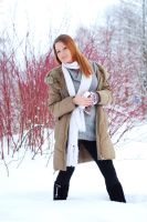 Lidia in Winter 2 by SmileyG