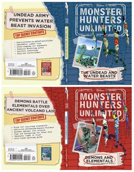 Monster Hunters Unlimited 1 and2 covers by D-M-W
