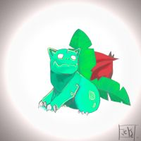 002. Ivysaur by GuilleJoK
