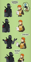 GI Joe Voices in BioWare - Scarlett and Snake-Eyes by JadeRaven93