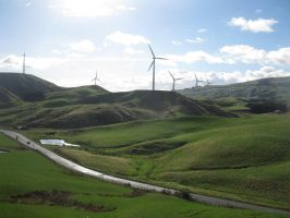 Saddle Rd windfarm v1 by hazeldazel