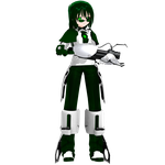 MMD Portal 2 Cosplay - ''ATLAS-Green'' by TheNufinger