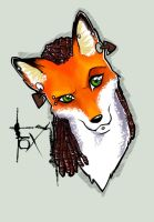 Foxy by nightgrowler