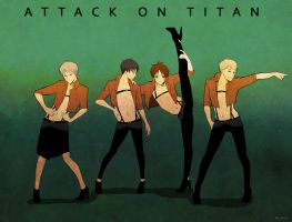 LOVE-Attack on titan by mewwi12345