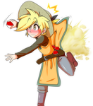 PKMN Trainer Yellow- (Commission/F-Art) by Aweye-FreeFall