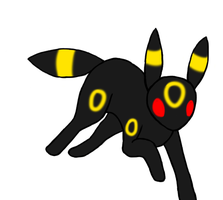 umbreon run coloured by ripple09