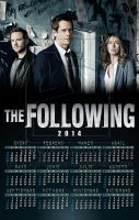 The Following - Spanish Wall Calendar 2014 by rickymanson