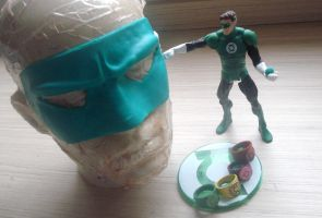 Hal Jordan's mask by Regis-AND
