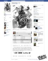 GDonta FaceBook Page Design by GrahamPhisherDotCom