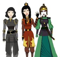 TLOK: Dangerous Ladies 2.0 by NelielDante