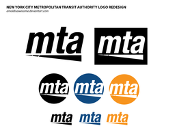 MTA Logo Redesign by arnoldisawesome