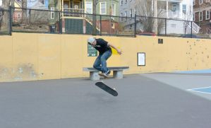 The Skateboarder Action Shot 14 by Miss-Tbones