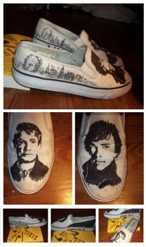 Sherlock Shoes by perfectlypunky