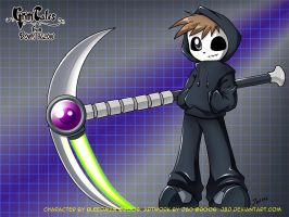 Junior's New Scythe by J8d