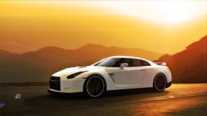 Nissan GTR. by gbpackers