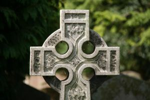 Stone Cross - Stock by CO2PHOTO-stock