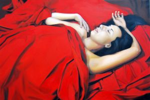 Do you dream of me, 2012, 120-80cm, oil on canvas by oanaunciuleanu