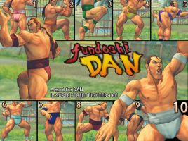 SSF4AE DAN fundoshi MOD by dsFOREST