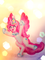 Princess Pinkie Pie 'ALICORN PARTYYYY!!!' by Sasha-Softpaw