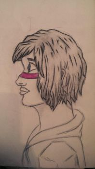 Face (Profil) by FireDrawer1309