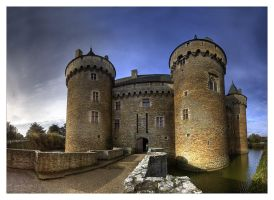 Suscinio castle , gate by rhipster