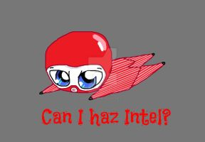 Chibi Red Spy - Can I haz intel? by InvaderBlitzwing