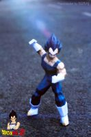 Vegeta Papercraft by suraj281191