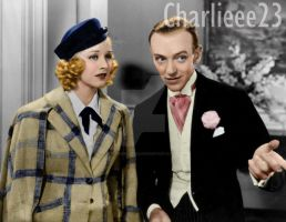 Fred Astaire and Ginger Rogers by Charlieee23