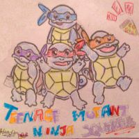 Teenage Mutant Ninja Squirtles by Light-Everlasting