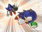 Sonic CD - Descending Space and Time by angus