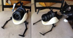 Portal Gun Assembly WIP 02 by Athey