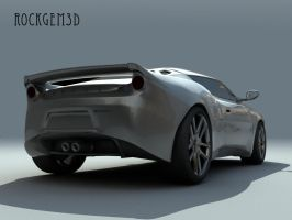 Textured Lotus Evora 4 by rockgem3d