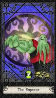 Ben 10 Tarot- 4. The Emperor by CheshireP