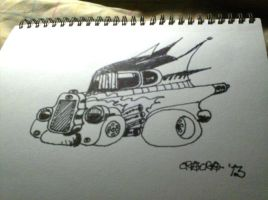 Evil Car Bat Style by kXn