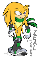Zeal the Echidna by MolochTDL