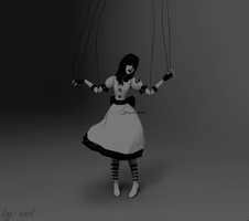 Dead doll by ConnorCroftOwl