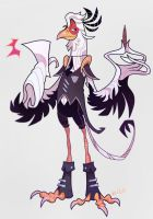 Secretary Bird by Garvals