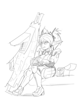 PSO2: Tuff Lunch by Dreatos