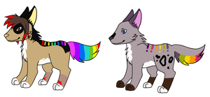 Pup Litter 36 by LizzysAdopts