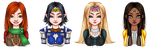 LOTRO characters by Gabonica