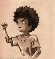 Huey Freeman by xMarinx
