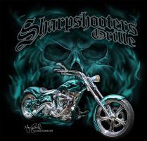 Sharpshooters Grille Bike Week by ariess