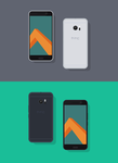 Freebie // Mockup: Flat HTC 10 by PSDchat