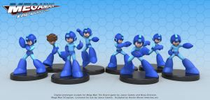 Mega Man Figures by HecM