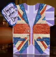 Father's Day Waistcoat Card by blackrose1959