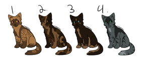 Cat Adoptables 2| closed by RosaliewolfAdopts